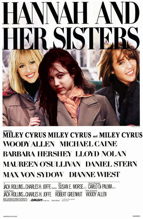 Hannah Montana And Her Sisters Movie Poster Museum