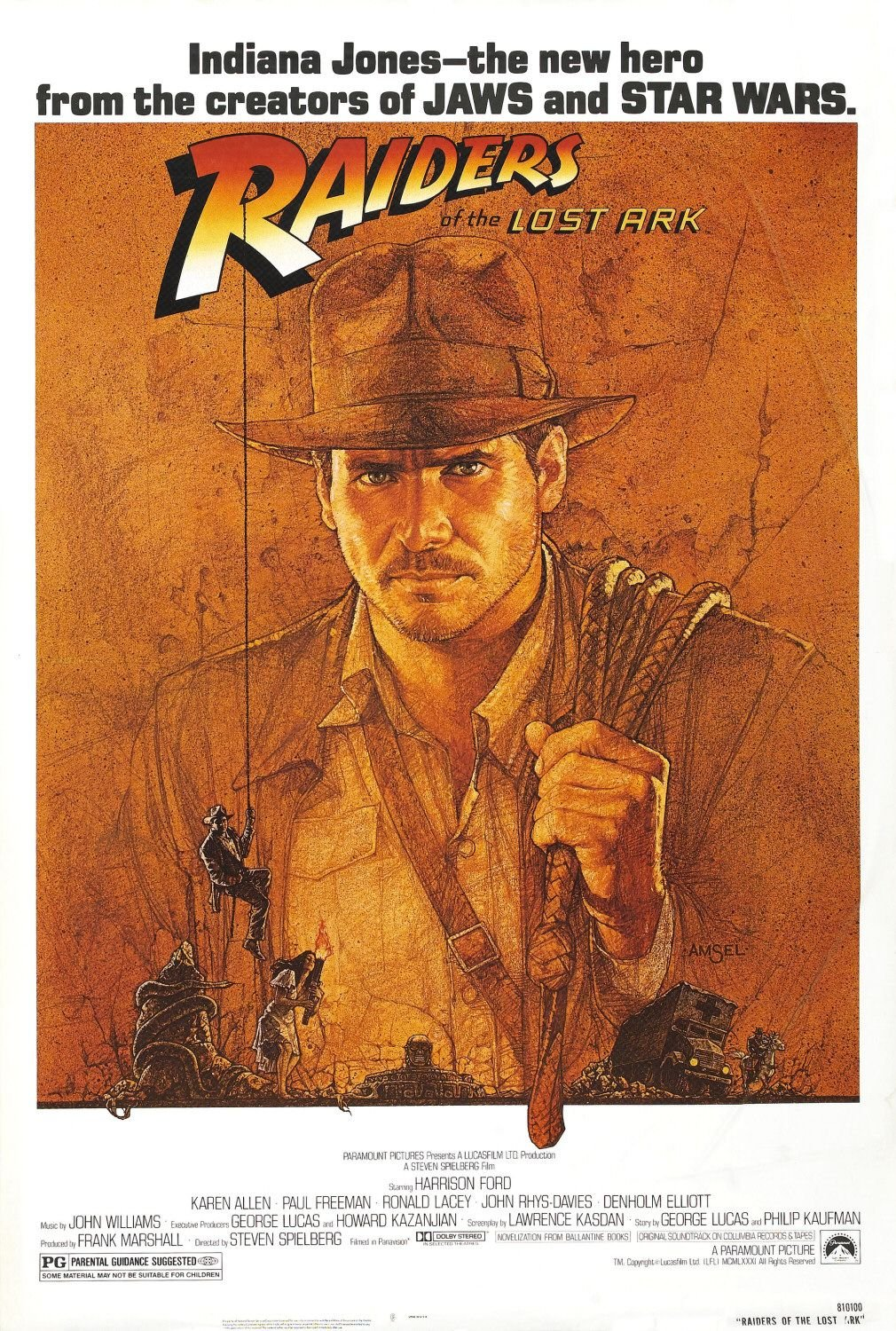 Raiders of the Lost Ark | Movie Poster Museum