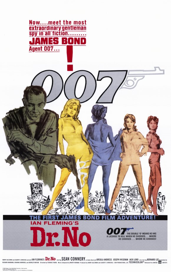 dr. no : Movie Poster Museum