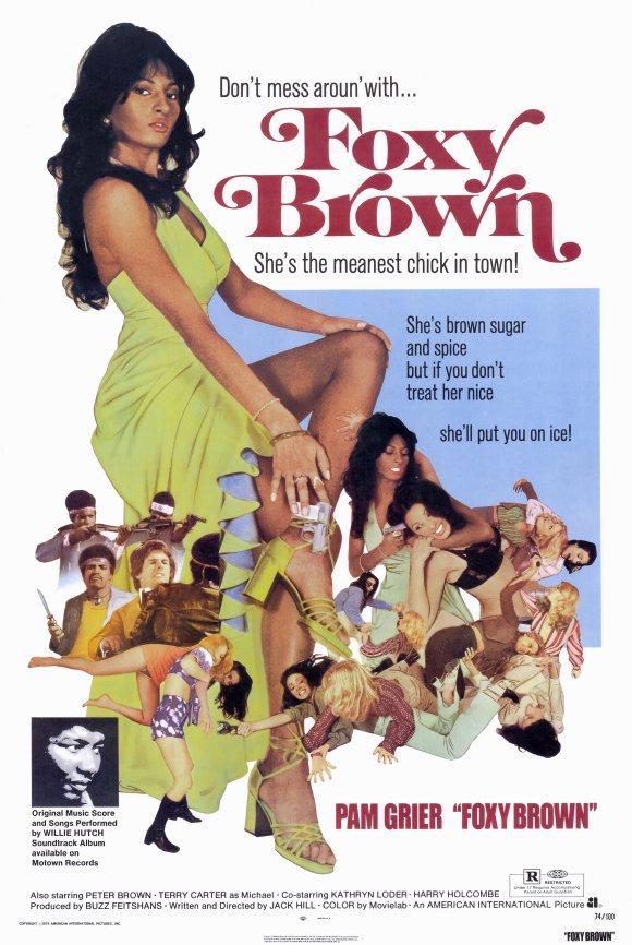 Locandina Foxy Brown
