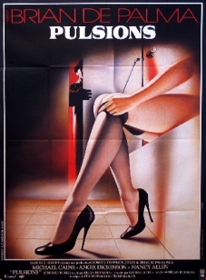 dressed to kill french movie poster landi