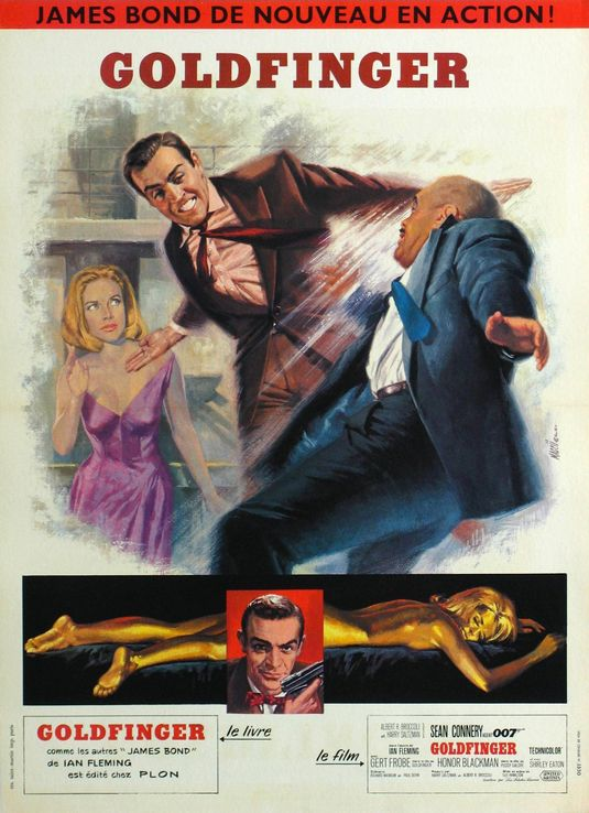 Goldfinger French Movie Poster Movie Poster Museum