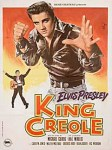 KING CREOLE french poster
