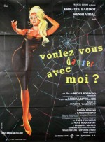 come dance with me hurel french poster