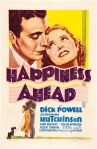 happiness ahead 1934 movie poster