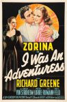 I was an adventuress 1940 movie poster