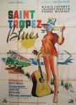 saint tropez blues 47x63 french poster