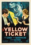 the yellow ticket 1931 movie poster