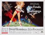 Barbarella half poster