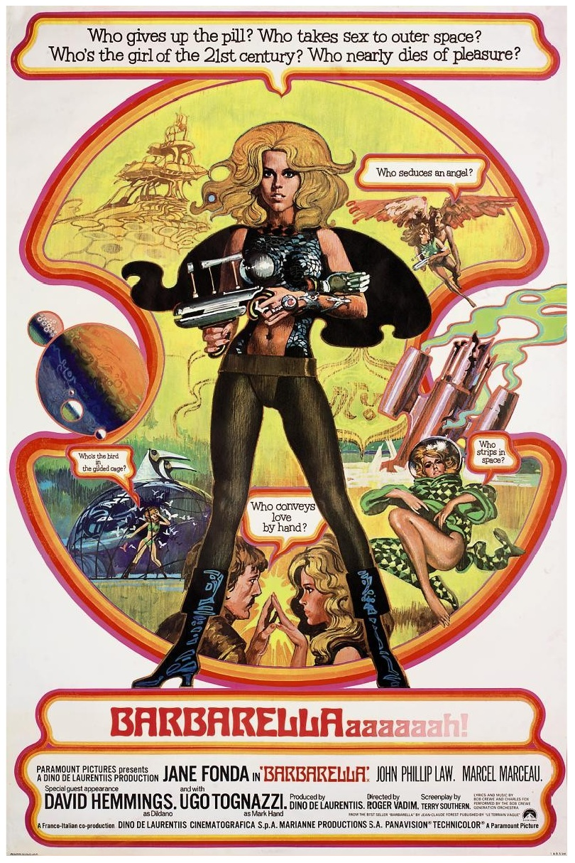 barbarella movie poster - photo #8