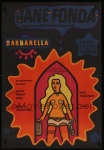 polish barbarella movie poster