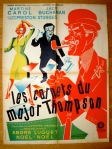 preston sturges les carnets du major thompson french poster