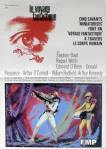 fantastic voyage french movie poster