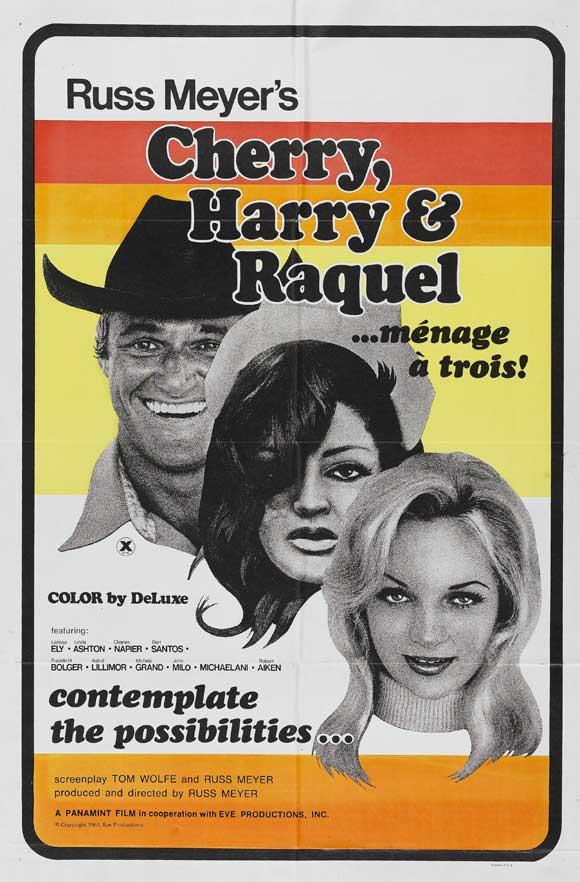 Russ meyer vintage movie posters