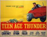 teenage thunder movie poster