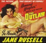 the outlaw jane russell movie poster