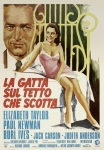cat on a hot tin roof italian movie poster ciriello