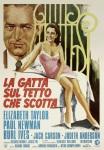 cat on a hot tin roof italian movie poster ciriello