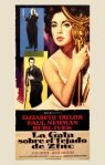 cat on a hot tin roof spanish movie poster