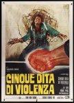 italian_1p_5_fingers_of_death mos mario de berardinis poster