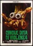 italian_2p_5_fingers_of_death mos mario de berardinis poster