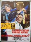 whos afraid of virginia woolf italian movie poster ercole brini