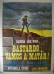 bastard go and kill italian movie poster tarantelli