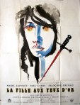 fille aux yeux french movie poster raymond gid