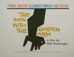 the man with the golden arm poster saul bass