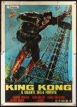 italian_2p_king_kong_escapes movie poster franco
