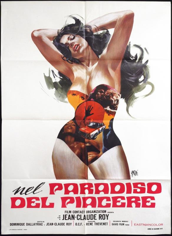 nel paradiso del piacere italian movie poster symeoni