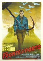 on the waterfront italian poster ballester