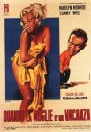 seven year itch italian movie poster franco