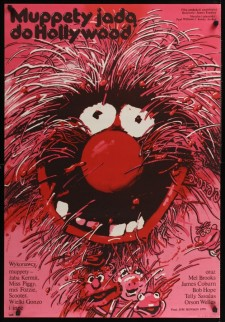 the muppet movie swierzy polish movie poster