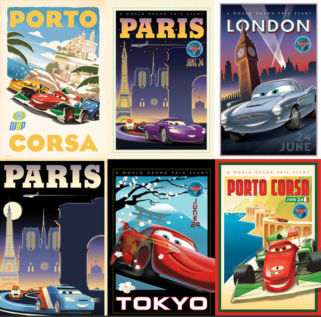 Cars 2 Movie Poster Museum