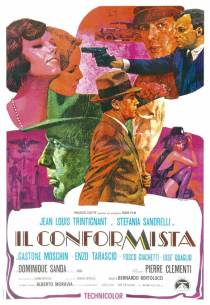 the conformist italian movie poster