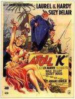 atoll k laurel and hardy italian poster enrico de seta