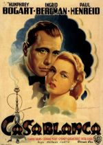 casablanca italian movie poster martinati