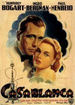 casablanca italian movie poster martinati