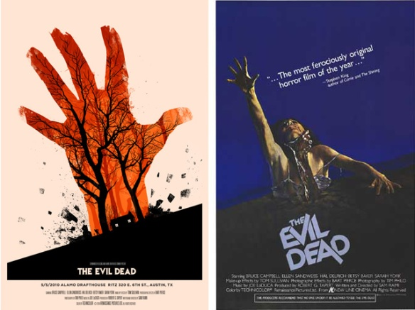 evil-dead movie poster mondo alamo drafthouse