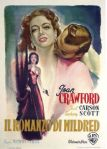 mildred pierce italian movie poster martinati