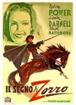the mark of zorro italian movie poster martinati