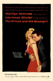 the_prince_and_the_showgirl movie poster richard avedon