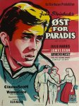 east of eden danish movie poster stilling