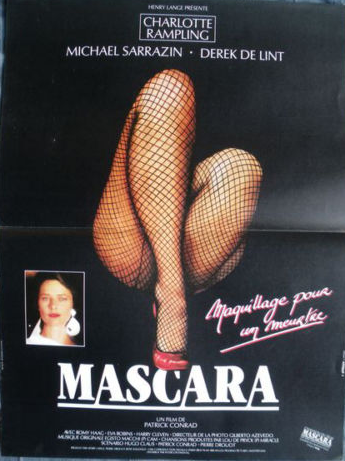 Horror movie advertisements