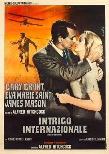 north by northwest italian movie poster enzo nistri