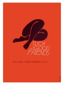 Such Good Friends poster saul bass