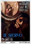 the servant italian movie poster nistri