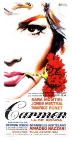 carmen spanish movie poster mac gomez