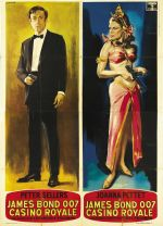 james bond casino royale italian poster giorgio olivetti peter sellers